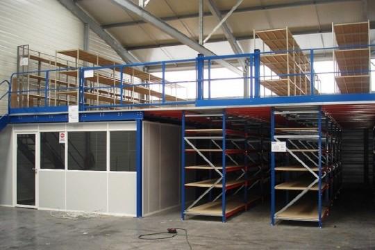 Quel type de mezzanine industrielle choisir?