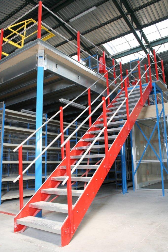 Escalier métallique industrielle
